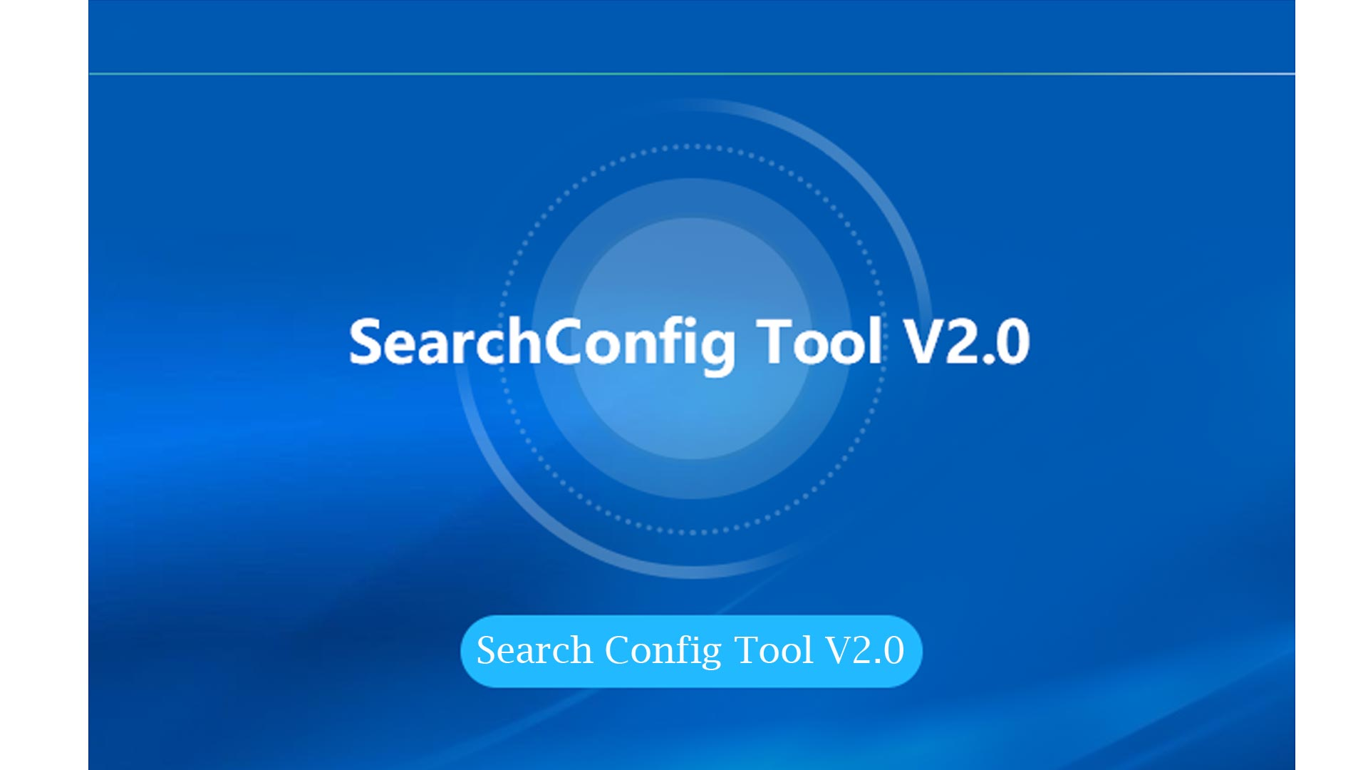 Search Config Tool V2.0